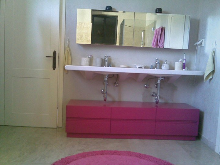 en granito,fibra de vidrio  Muebles Para Baño En Fibra De Vidrio
